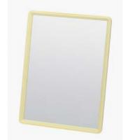 Зеркало MR28 настольное желтое   20*15см