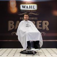 Пеньюар 0093-5990 WAHL Барбер в полоску